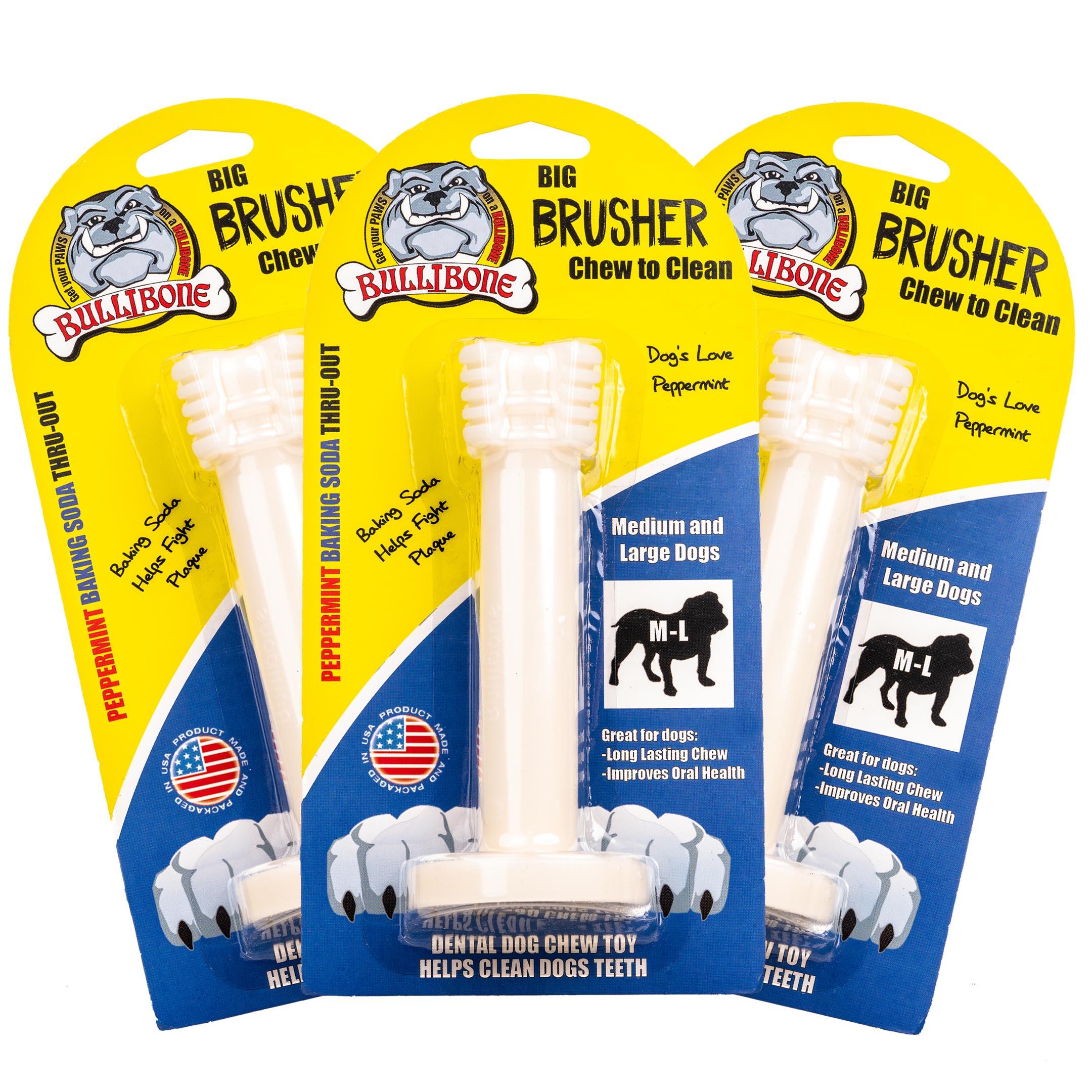 3 PACK Large Bullibone Brusher
