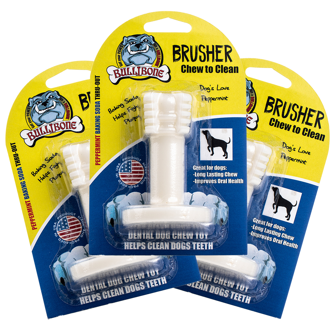 3 PACK Small Bullibone Brusher