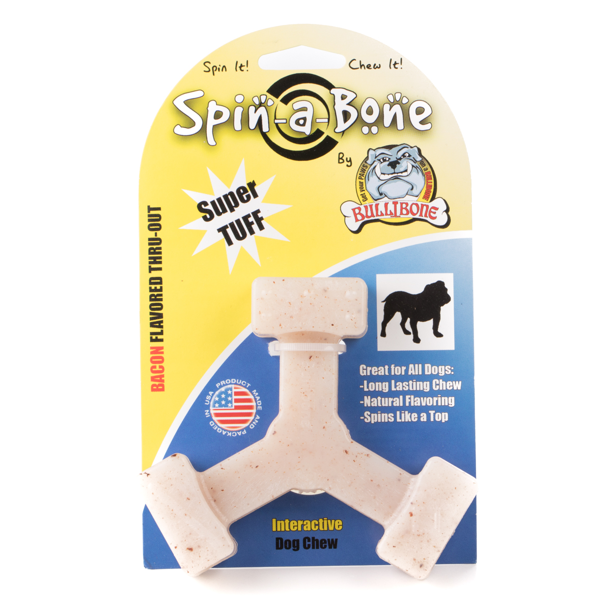 Spin-a-bone - BACON